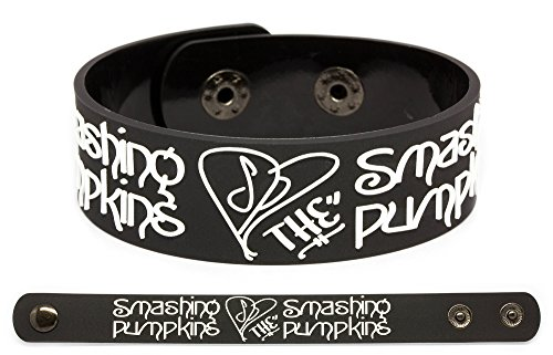 SMASHING PUMPKIN Rubber Bracelet Wristband Machina The Machines of (God Pumpkin)
