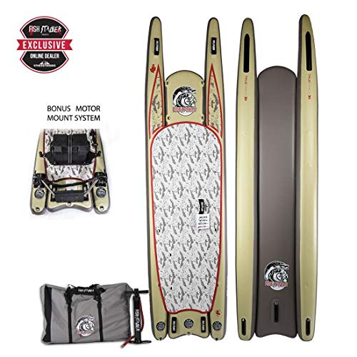 Fish Stalker Inflatable Fishing Standup Paddle Board | 4TheOutdoors