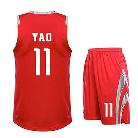 Yao Ming NO.11 Jerseys De Houston Rockets Jerseys De Local Y ...