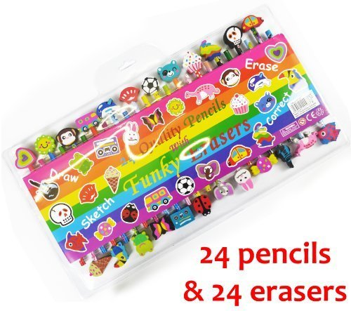 Funky Erasers - 6