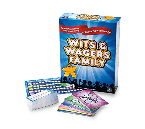 North Star Games Wits & Wagers Family Card Game