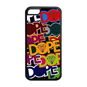 MMZ DIY PHONE CASESpecial Designer Simply Dope Couture Silicon ipod touch 5 Case, Snap on Protective Dope ipod touch 5 Case
