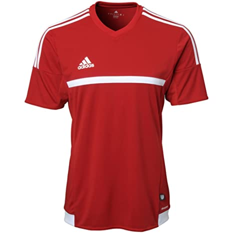 2156f6875d8a Amazon.com   Adidas Mens Mls 15 Match Jersey Red White S   Sports ...