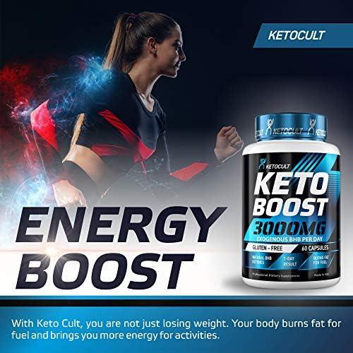 Keto Diet Pills - 5X Potent - Fat Burner 3000mg - Made in USA - Weight Loss Keto Burn - Exogenous Keto BHB Supplement for Women and Men - Keto Supplement & Metabolism Support - BHB Keto Burn 7