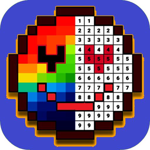 Game Santa - Colouring:Coloring Pixel Best Game