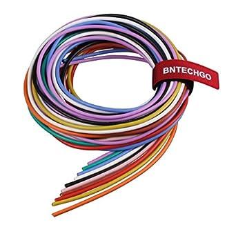 bntechgo 16 Gauge Silikon Draht – weich und flexibel High ...