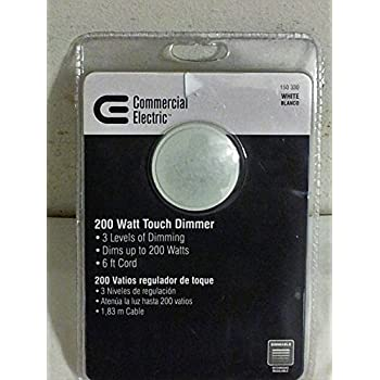 Commercial Electric 200 Watt 120 Volt 3 Level Touch Dimmer