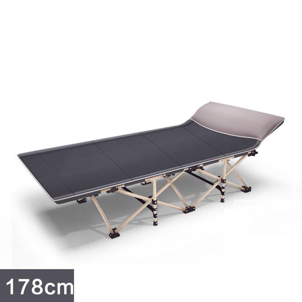 Zheng A折りたたみベッドシングルベッドソファシンプルオフィスランチCampベッドContactアウトドアEscort B074FXXLLL J J