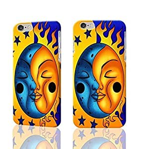 "Sun And Moon Celestial 3D Rough iphone 6 -4.7 inches Case Skin, fashion design image custom iPhone 6 - 4.7 inches , durable iphone 6 hard 3D case cover for iphone 6 (4.7""), Case New Design By Codystore hjbrhga1544"