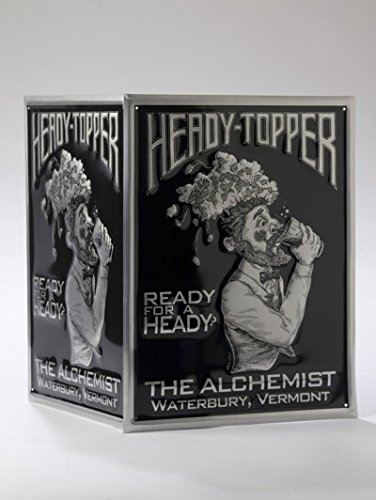 The Alchemist Vermont - Heady Topper Double IPA - Ready for a Heady Tin Bar Sign - Tacker