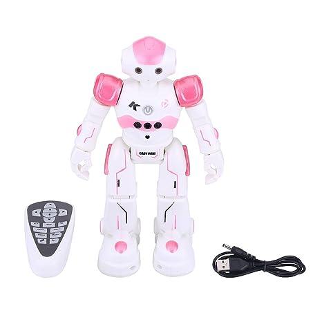 Robot Juguete RC, Robot Control Remoto Bailando Cantando Sensor de Gestos Robot de Aprendizaje Robot