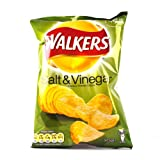 Walkers Crisps Salt and Vinegar x 48 1656g