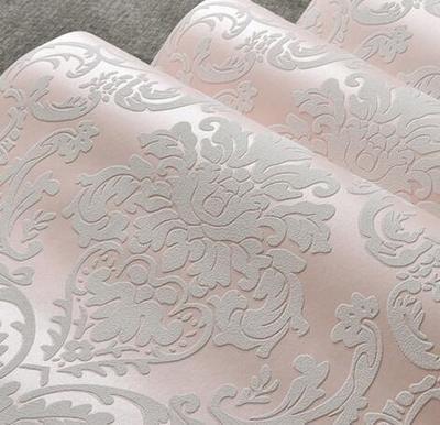 Reyqing Iim Europaischen Stil Besprengung Gold Tapeten D Dreidimensionale Schlafzimmer Wohnzimmer Hintergrund Wand Tapeten Rosa Wallpaper Nur
