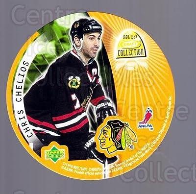 (CI) Chris Chelios, Teppo Numminen Hockey Card 1998-99 Kraft Peanut Butter Discs 4 Chris Chelios, Teppo Numminen