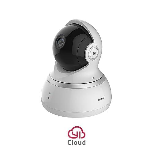 YI Dome Cámara 1080P Vigilancia IP Cámara WIFI, Smart Home Cámara con visión nocturna,