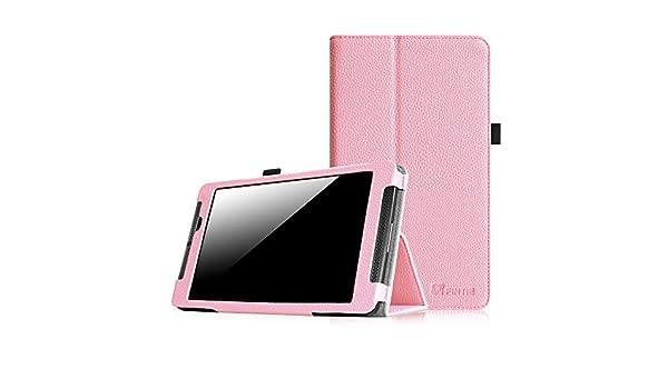Fintie NVIDIA SHIELD Tablet K1 / NVIDIA SHIELD Tablet Folio Case - Slim Fit  Vegan Leather Cover for 2015 NVIDIA SHIELD Tablet K-1 8 0-Inch (Newest