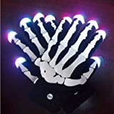 C&H Solutions LED Light Gloves Xmas Gift, Birthday