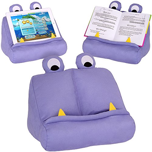 Thinking Gifts Monster Book and Tablet Reading Stand Purple