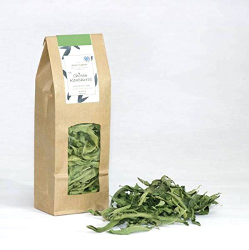 (Bio Organic Lemon Verbena Leaves Herb from Mount Pelion Greece - GMO / Caffeine Free)