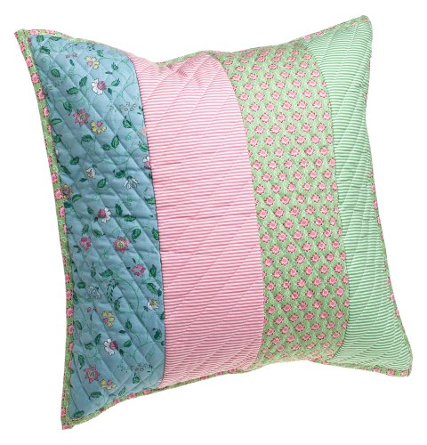 Tommy Hilfiger Emma 18-inch Floral Decorative Pillow(Old Pattern)