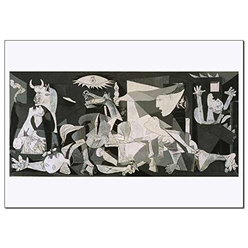 Young N Refined Guernica Print of Painting Famouse Artwork b