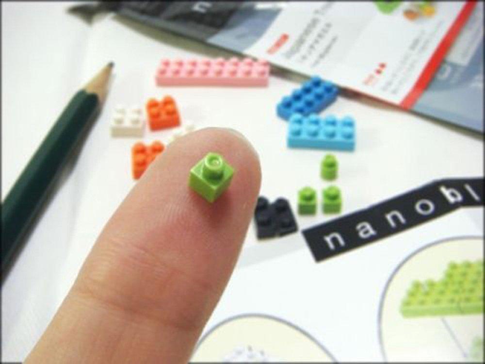 Nanoblocks 2 Sets - Famous Cats - Russian Blue and Calico Cat - Bundled Sets (Japan Import) 6