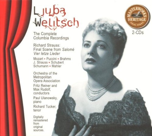 Ljuba Welitsch: Manufacturer OFFicial shop The Topics on TV Complete Columbia Recordings