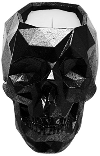 Candellana Candles Candlefort Candles Concrete Skull-Warm Feather, Scent