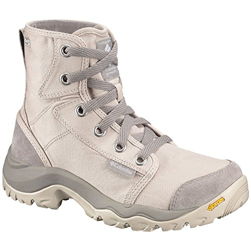 Columbia Camden Outdry, Botas Chukka Para Mujer Beige (Ancient Fossil, Grey Ice 271)
