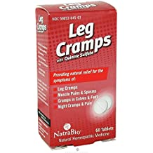 NatraBio Leg Cramps with Quinine Sulfate -- 60 Tablets