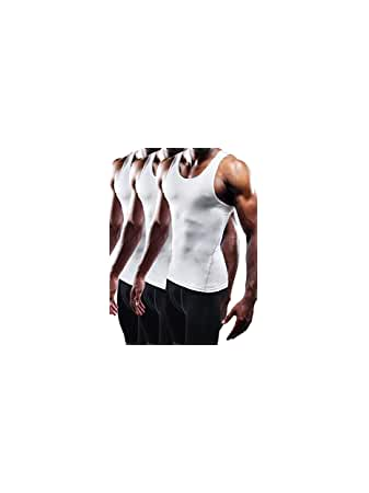 Men's 3 Pack Athletic Compression...