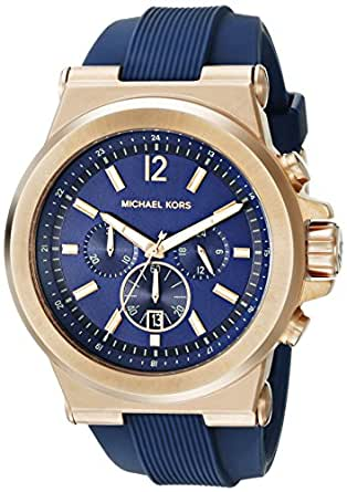 Michael Kors Men's MK8295 Dylan Rose Gold-Tone Stainless Steel Watch