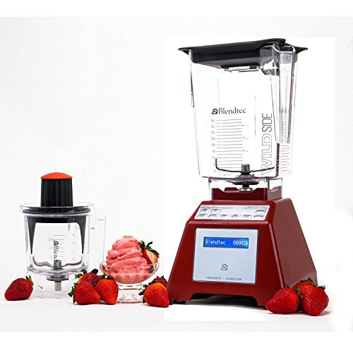 Blendtec Total Blender with WildSide Jar and Mini-Twister Jar ...