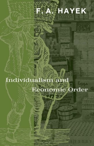 Book cover from Individualism and Economic Orderby F. A. Hayek