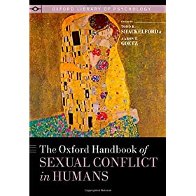 Learn more about the book, The Oxford Handbook of Sexual Conflict in Humans