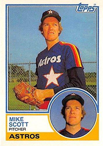 Mike Scott Baseball Card Houston Astros 1986 Cy Young Winner 1983