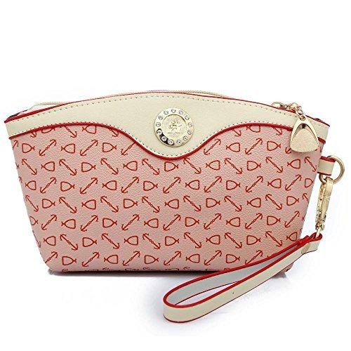 Aoligei L'Europe et l'épaule unique de flèches fashion États-Unis incliner Croix sac de sac à main three-piece sous-emballage actuel A