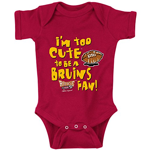 Smack Apparel SoCal Football Fans. Too Cute (Anti-Bruins) (NB-18M) or Toddler Tee (2T-4T) (NB)
