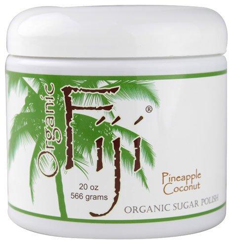 Organic Fiji Sugar Polish Pineapple Coconut - 20 oz by Organic Fiji