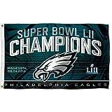 Philadelphia Eagles Super Bowl LII 52 Champions Flag 3ft x 5ft World Champ Flag