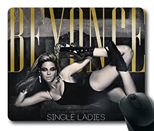 Customizablestyle Famous Singer Beyonce-3 Mousepad, Customized Rectangle DIY Mouse Pad