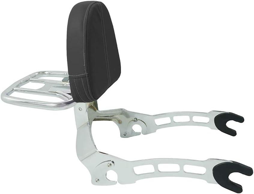 Respaldo universal para motocicleta coj/ín para la espalda modificado dise/ñado para pasajeros botella para coche respaldo transpirable y duradero respaldo para coche el/éctrico