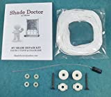 BASIC RV Camper MOTORHOME Day/Night PLEATED SHADE Restring REPAIR KIT from Shade Doctor of Maine