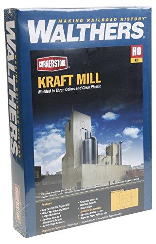 Walthers Trainline Kraft Mill - Kit Train Collectable Train from Walthers Trainline