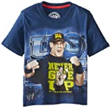 WWE Little Boys' John Cena T-Shirt Shirt, Blue, 7