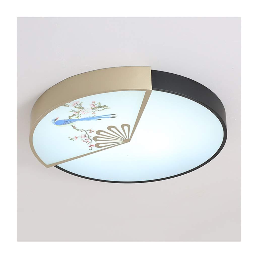 天井照明 シーリングライト中国風、LEDアイアンアクリルシーリングランプ、リビングルーム/ベッドルーム/書斎/ダイニング/ホテル/オフィスインテリア照明[エネルギークラスA ++] シーリングライト (Color : C, Size : 50cm) 50cm C B07TSWW21W