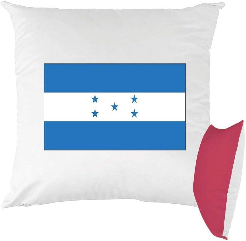 Mygoodprice cojín Bicolor Estampado 40 x 40 cm Bandera Honduras: Amazon.es: Hogar
