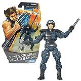 Hasbro Year 2009 X-Men Origins Wolverine Series 4 Inch Tall Action Figure - Comic Series Mission Strike WOLVERINE with Gun