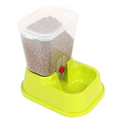 Hosaire Alimentador Automático de Animales se Alimentan Automáticamente el Agua de Uso para Perro o Gato