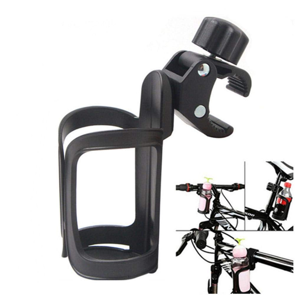 Stroller Cup Holder Bike Cup Holder 360 Degrees Rotation Anti Slip Cup Drink Rack for Bicycle Motorcycle Baby Stroller Wheelchair